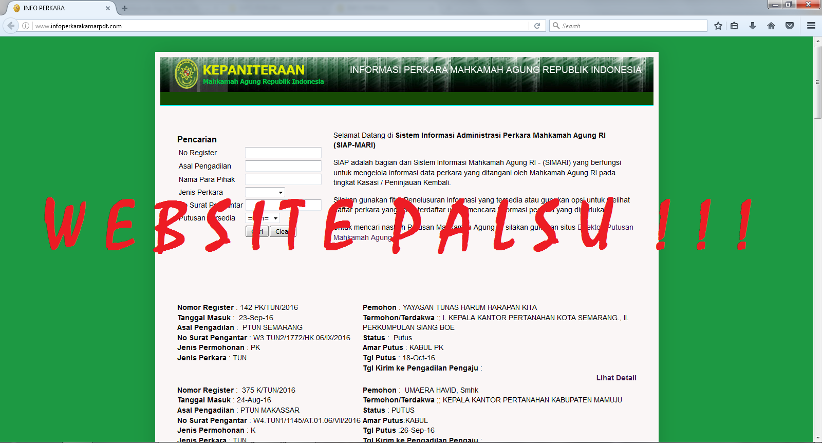 webPalsu